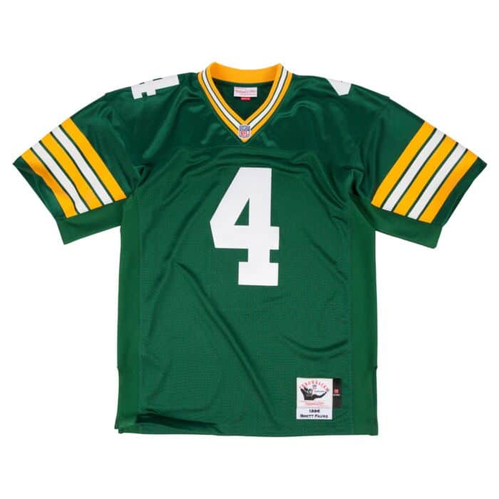 competitive price 3581f d7509 Brett Favre 1996 Authentic Jersey Green Bay Packers