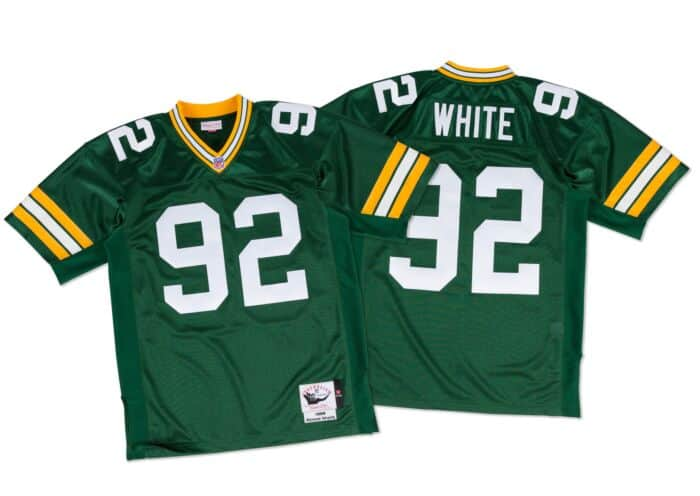 buy popular 9e26b bb4d2 Reggie White 1996 Authentic Jersey Green Bay Packers