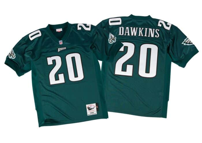 competitive price 0b257 96723 Brian Dawkins 1996 Authentic Jersey Philadelphia Eagles