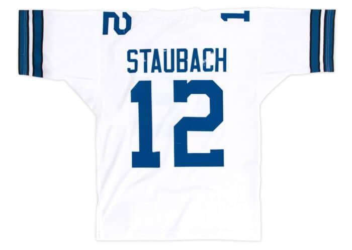 hot sale online 572b8 fba52 Roger Staubach 1977 Authentic Jersey Dallas Cowboys