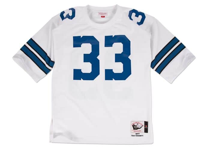 low priced 455ab af937 Tony Dorsett 1977 Authentic Jersey Dallas Cowboys Mitchell ...
