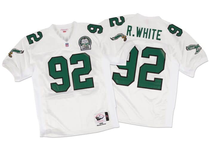 superior quality df42f dfde3 Reggie White 1992 Authentic Jersey Philadelphia Eagles
