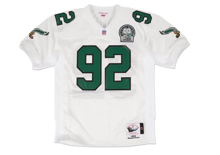reggie white eagles jersey