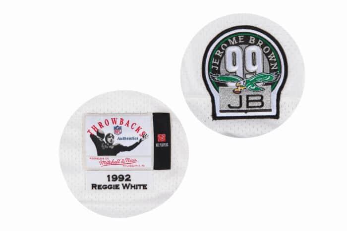 superior quality f12a1 32c46 Reggie White 1992 Authentic Jersey Philadelphia Eagles