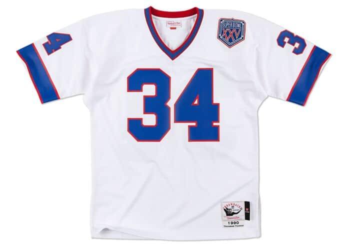 quality design fb9e2 10394 Thurman Thomas 1990 Authentic Jersey Buffalo Bills