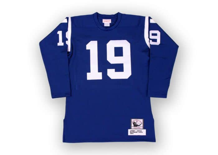 separation shoes 0c780 e22a6 Johnny Unitas 1970 Authentic Jersey Baltimore Colts Mitchell ...