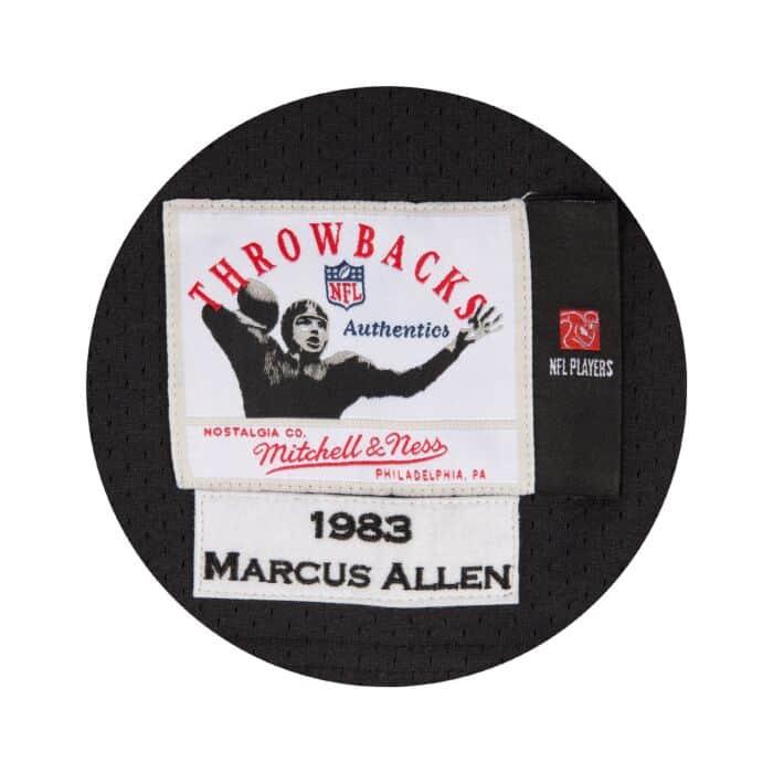 the best attitude f725c 107fb Marcus Allen 1983 Authentic Jersey Los Angeles Raiders ...