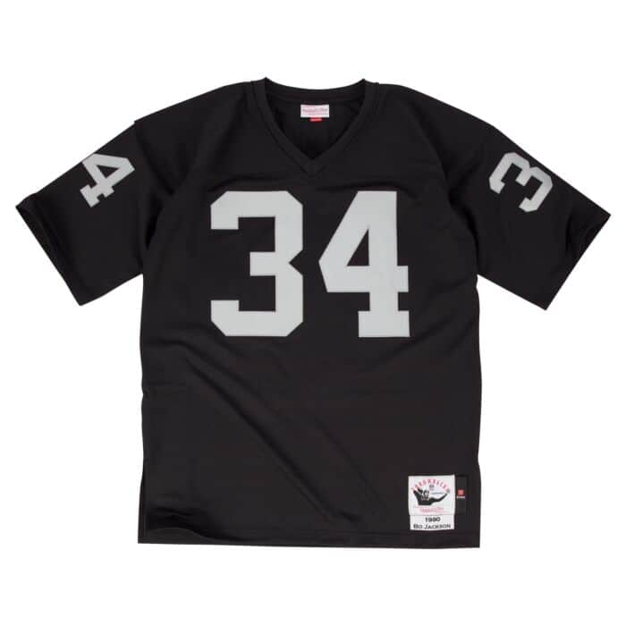 release date bc4a0 8be4b Bo Jackson 1990 Authentic Jersey Los Angeles Raiders