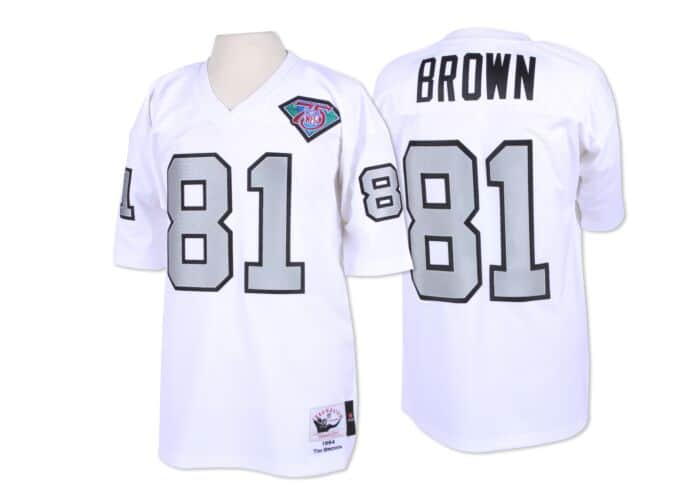wholesale dealer 87a74 900a8 Tim Brown 1994 Authentic Jersey Los Angeles Raiders
