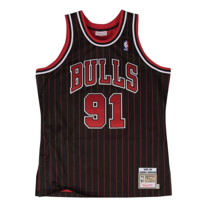 reputable site df2f7 fc03b Dennis Rodman Authentic Jersey 1995-96 Chicago Bulls