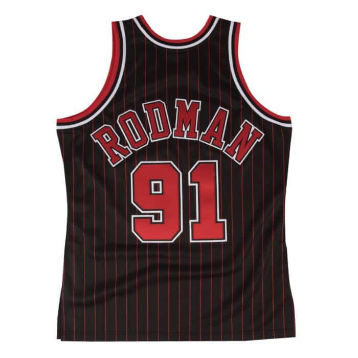 reputable site 36e3f dcab6 Dennis Rodman Authentic Jersey 1995-96 Chicago Bulls