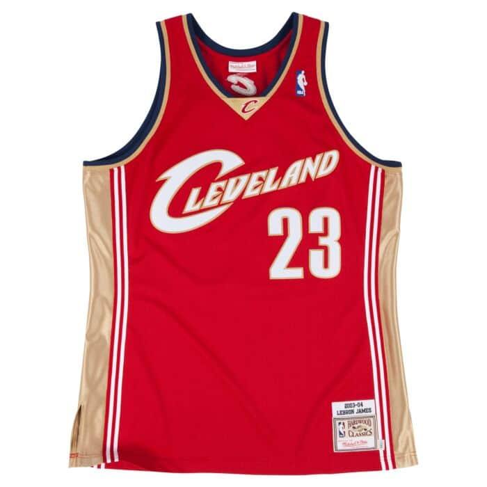 premium selection f182c 8cfd5 Lebron James 2003-04 Authentic Jersey Cleveland Cavaliers ...