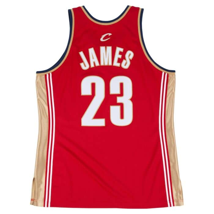 premium selection fba78 be8b2 Lebron James 2003-04 Authentic Jersey Cleveland Cavaliers ...