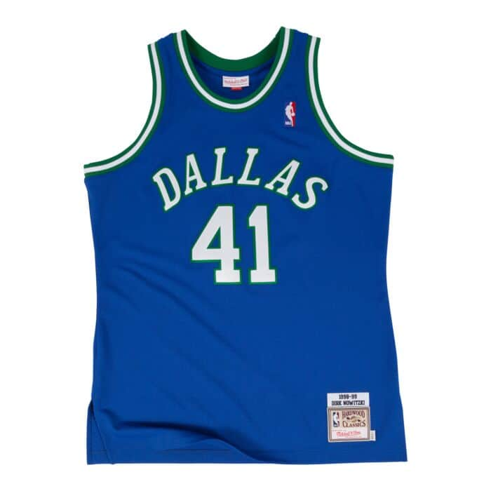 wholesale dealer 2b578 81840 Dirk Nowitzki 1998-99 Authentic Jersey Dallas Mavericks