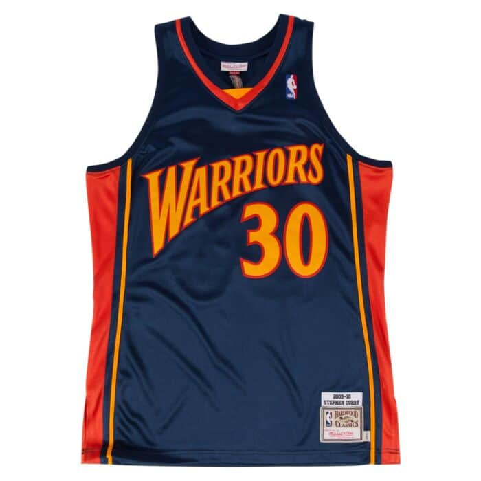 sports shoes 02dcf 15765 Stephen Curry 2009-10 Authentic Jersey Golden State Warriors