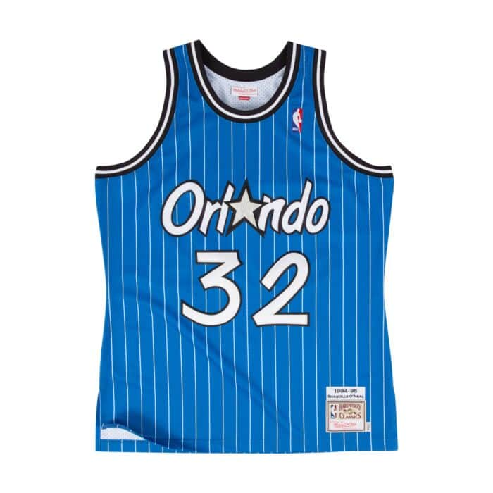 best cheap 6cc76 7b6f1 Shaquille O'Neal 1994-95 Authentic Jersey Orlando Magic