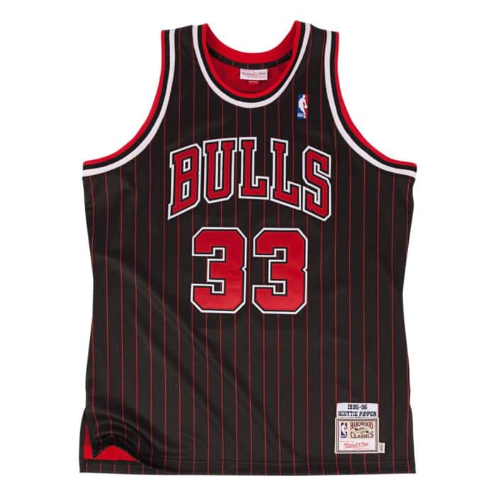 huge discount 58250 03a64 Scottie Pippen 1995-96 Authentic Jersey Chicago Bulls