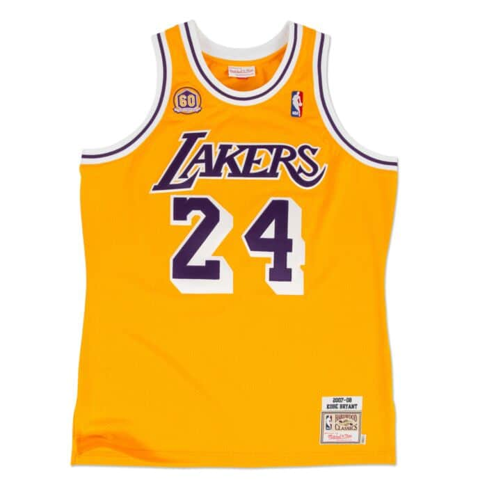 competitive price 21247 ec1d6 Kobe Bryant 2007-08 Authentic Jersey Los Angeles Lakers