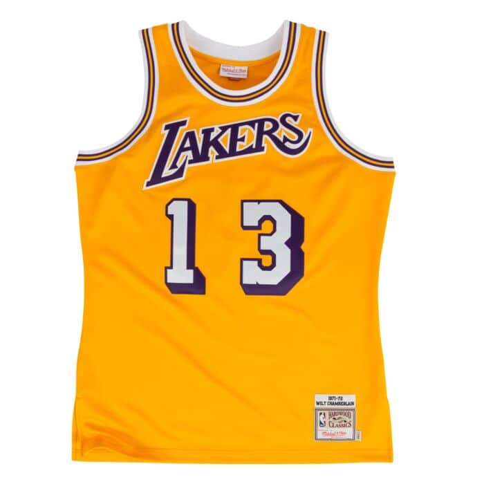 quality design b2078 594a1 Wilt Chamberlain 1971-72 Authentic Jersey Los Angeles Lakers