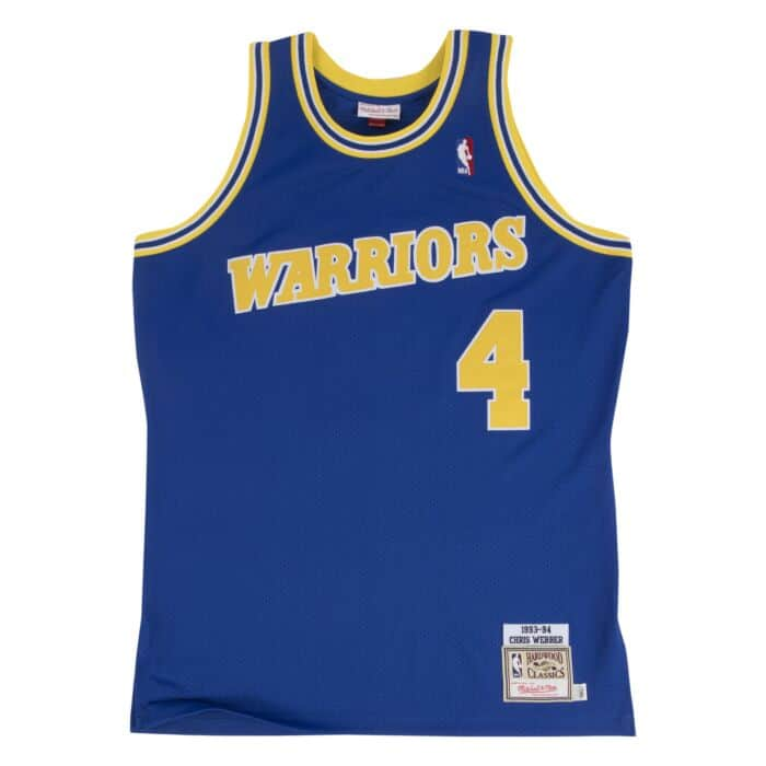 lowest price 5c2d2 7be55 Chris Webber Authentic Jersey 1993-94 Golden State Warriors ...