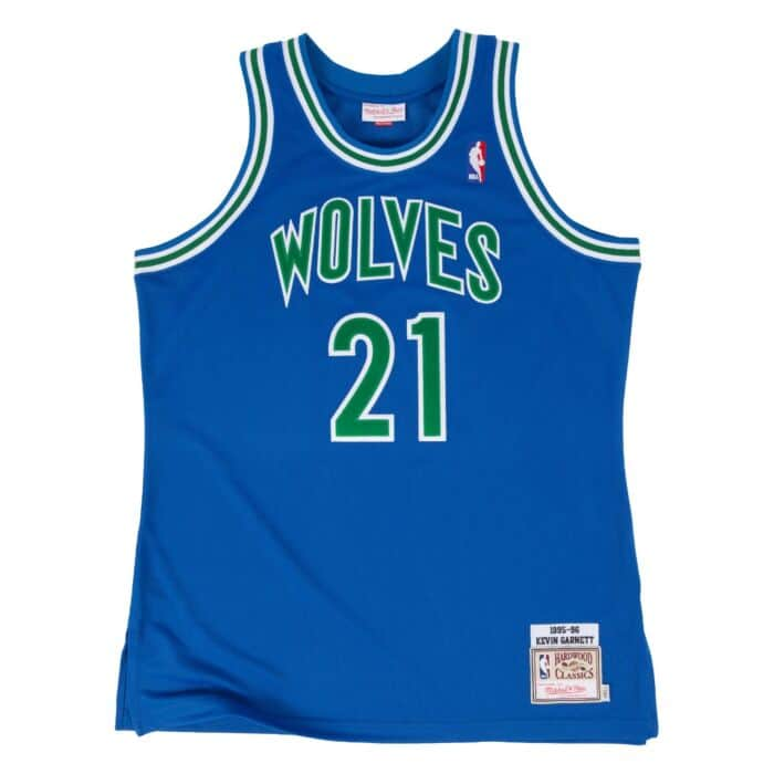 sale retailer db239 a3514 Kevin Garnett 1995-96 Authentic Jersey Minnesota Timberwolves