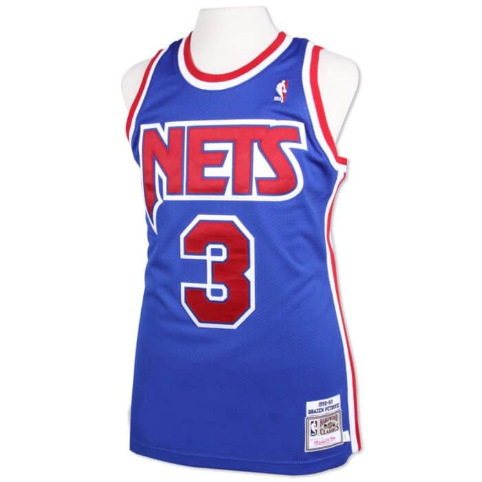 outlet store f2f82 ca5bb Drazen Petrovic 1992-93 Authentic Jersey New Jersey Nets ...