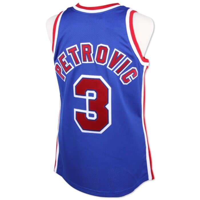 outlet store 72ef1 fad26 Drazen Petrovic 1992-93 Authentic Jersey New Jersey Nets ...