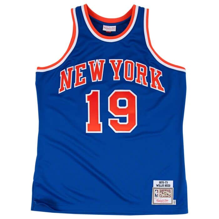 timeless design 9a85f 872d0 Willis Reed 1972-73 Authentic Jersey New York Knicks