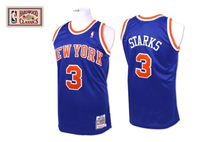 low priced d2f48 3f620 John Starks 1991-92 Authentic Jersey New York Knicks ...