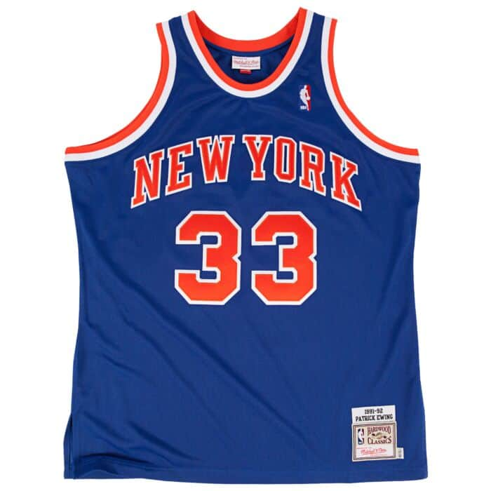 low priced 3b74d af684 Patrick Ewing 1991-92 Authentic Jersey New York Knicks