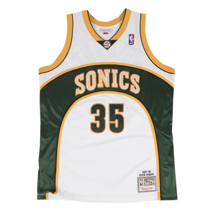 low priced 85cf5 ebe24 Kevin Durant Authentic Jersey 2007-08 Seattle SuperSonics