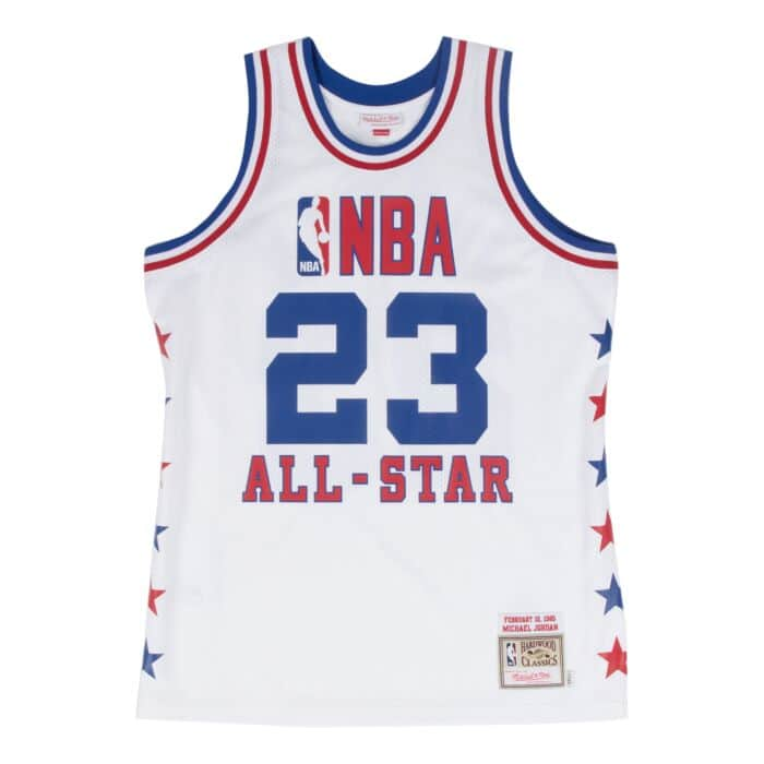 save off 52649 d83ce Michael Jordan 1985 Authentic Jersey NBA All-Star Mitchell ...