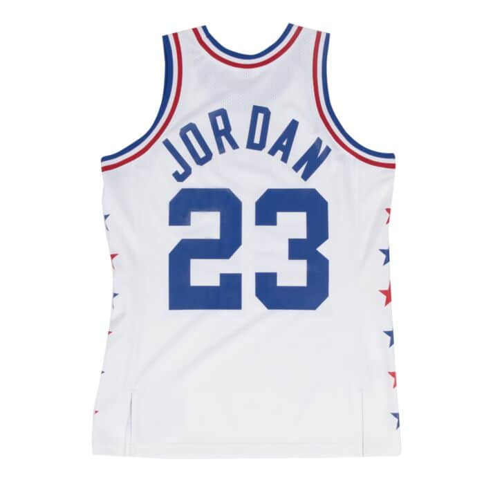 save off e32ec 152cc Michael Jordan 1985 Authentic Jersey NBA All-Star Mitchell ...