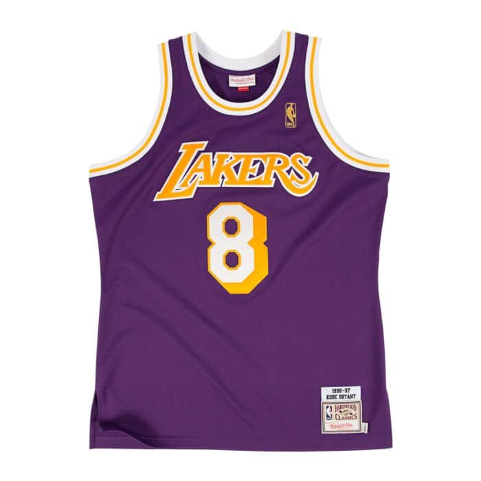 hot sale online 113d6 7f9f3 Kobe Bryant 1996-97 Authentic Jersey Los Angeles Lakers