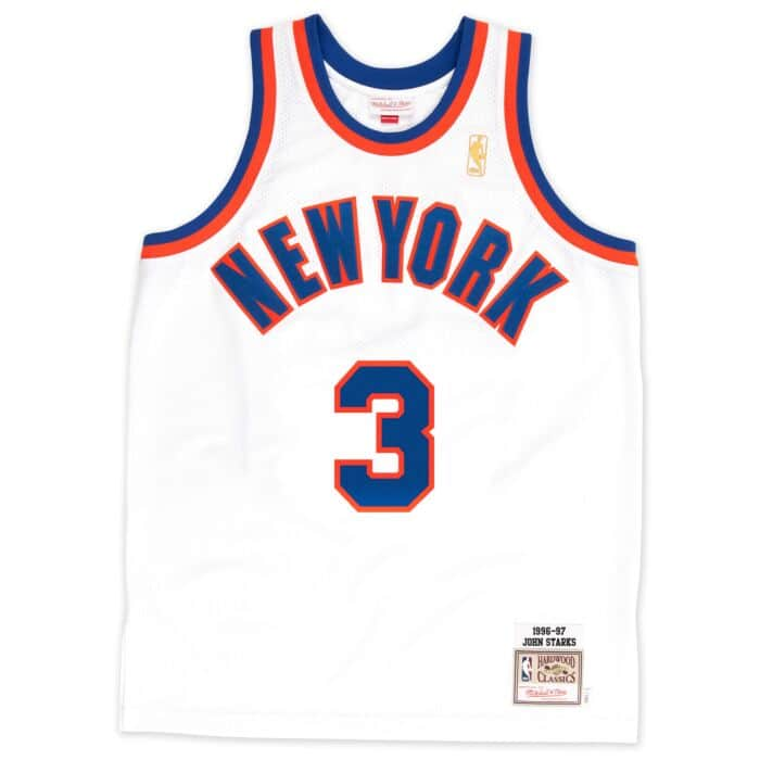 sale retailer 26b99 5d978 John Starks 1996-97 Authentic Jersey New York Knicks ...