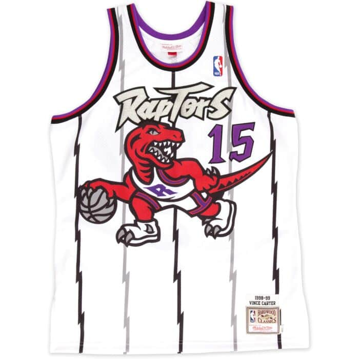 the best attitude 6603c d64e3 Vince Carter 1998-99 Authentic Jersey Toronto Raptors ...