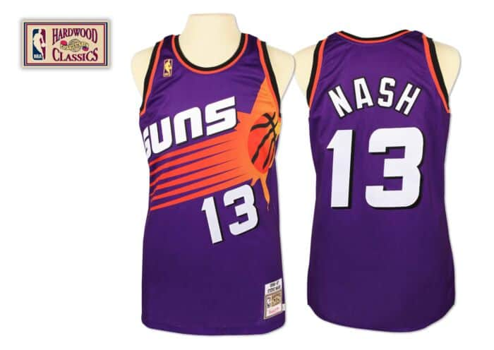 on sale c74d1 00b24 Steve Nash 1996-97 Authentic Jersey Phoenix Suns Mitchell ...