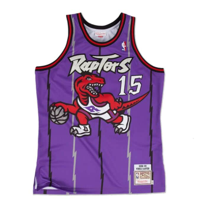 finest selection 2e4e4 dde72 Vince Carter 1998-99 Authentic Jersey Toronto Raptors