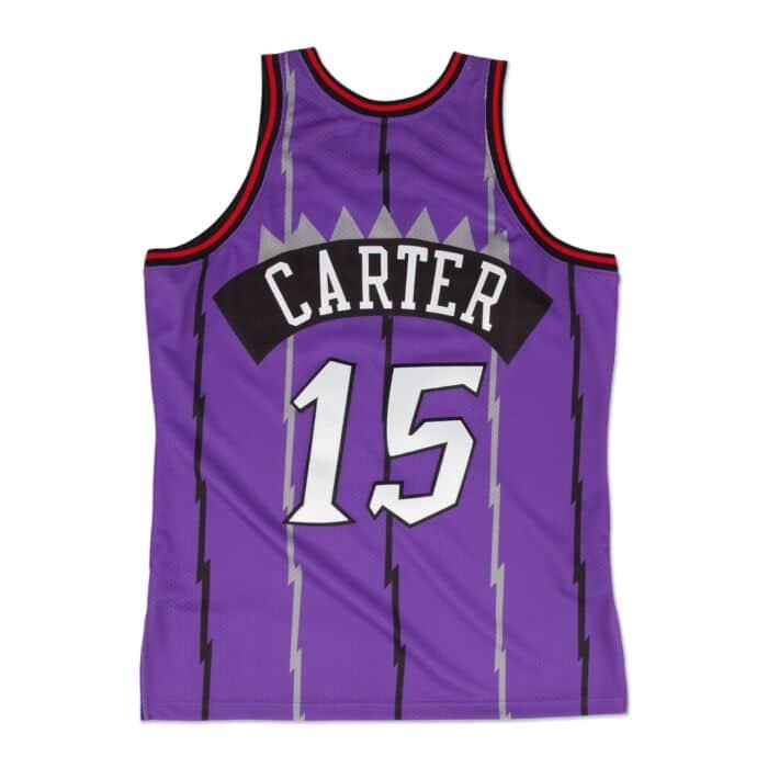 finest selection 56e14 18cb6 Vince Carter 1998-99 Authentic Jersey Toronto Raptors