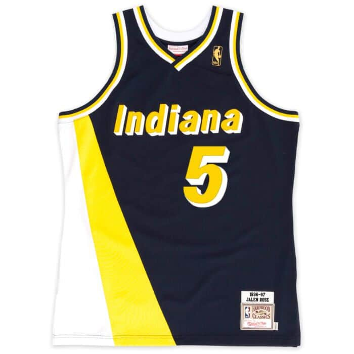 low priced 0e6b0 4a7a7 Jalen Rose 1996-97 Authentic Jersey Indiana Pacers