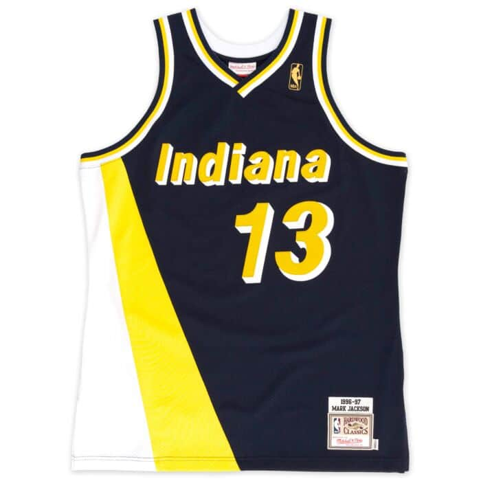best authentic 22435 ea365 Mark Jackson 1996-97 Authentic Jersey Indiana Pacers