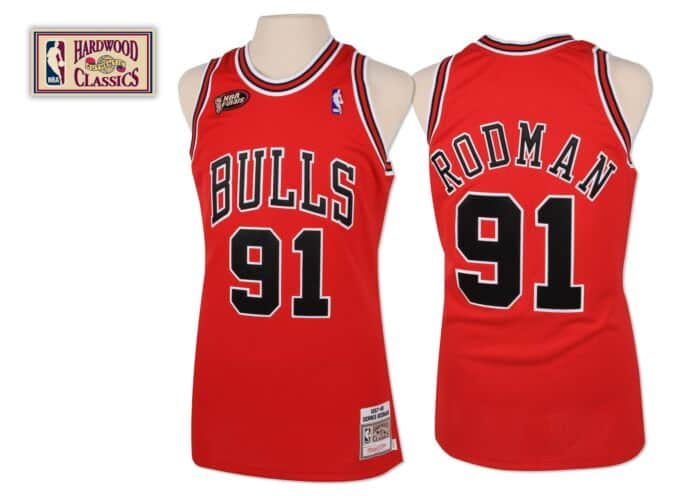 brand new b5a65 a13dc Dennis Rodman 1997-98 Authentic Jersey Chicago Bulls