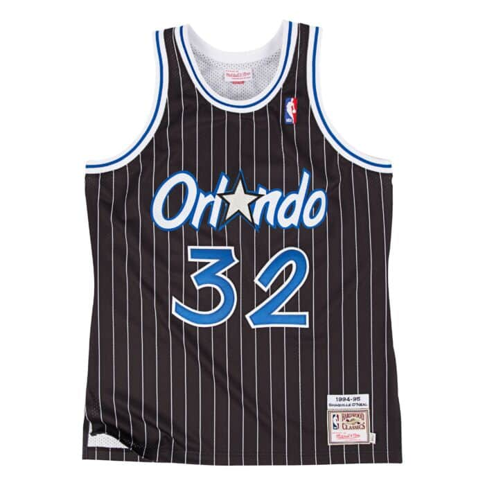 best cheap 2933d b29a9 Shaquille O'Neal 1994-95 Authentic Jersey Orlando Magic