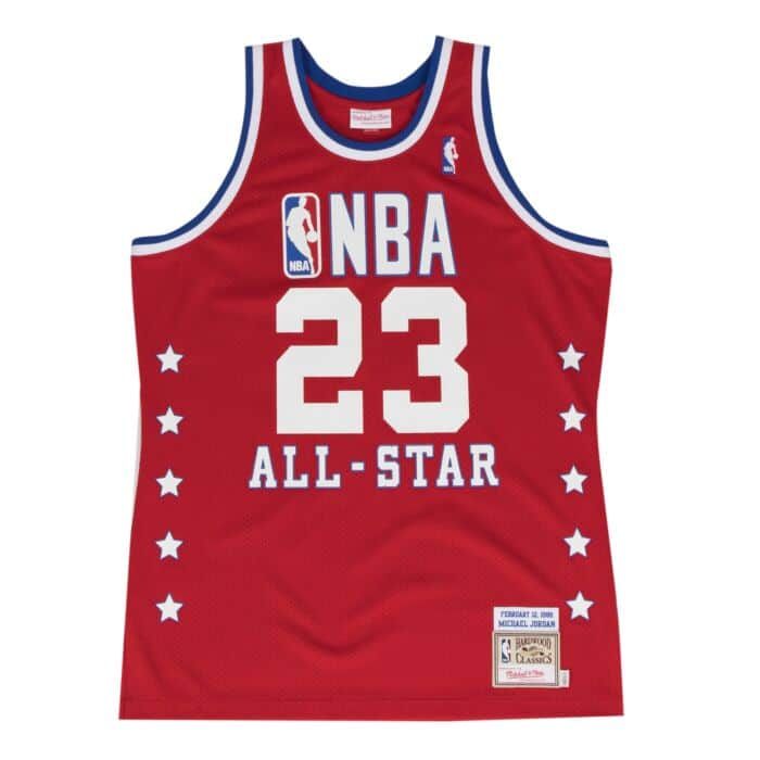 innovative design 5b59b 8a0ec Michael Jordan 1989 Authentic Jersey NBA All-Star