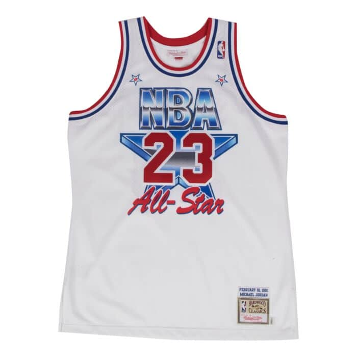 the best attitude d900e 3dee2 Michael Jordan 1991 Authentic Jersey NBA All-Star
