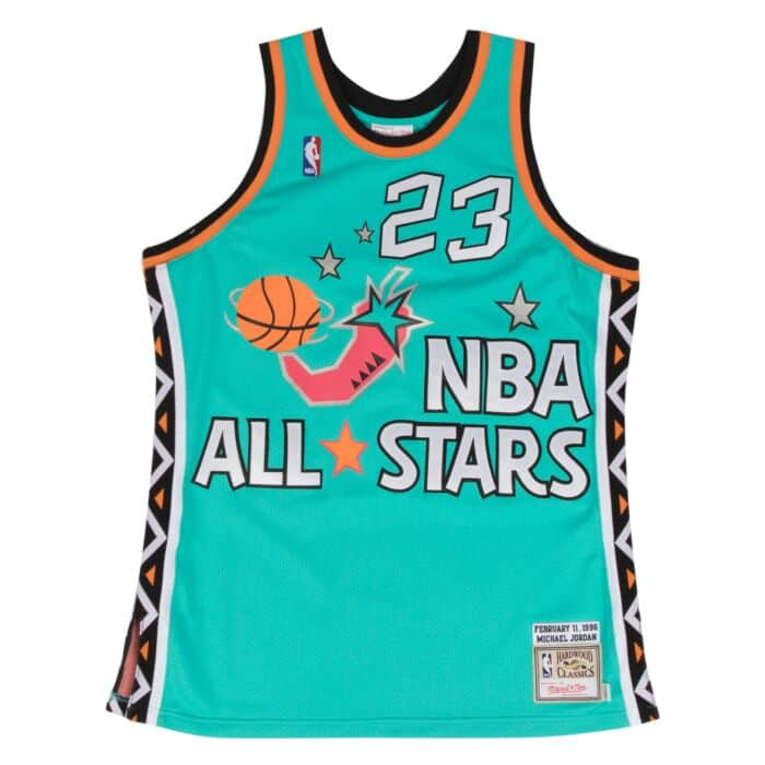 sports shoes 720a0 63619 Michael Jordan 1996 Authentic Jersey NBA All-Star Mitchell ...
