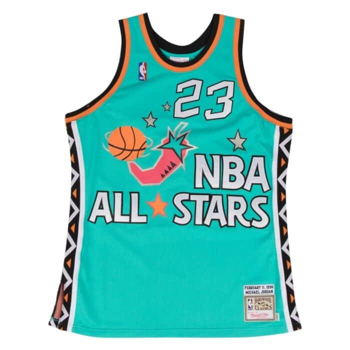 sports shoes 0c7fd b00e1 Michael Jordan 1996 Authentic Jersey NBA All-Star Mitchell ...