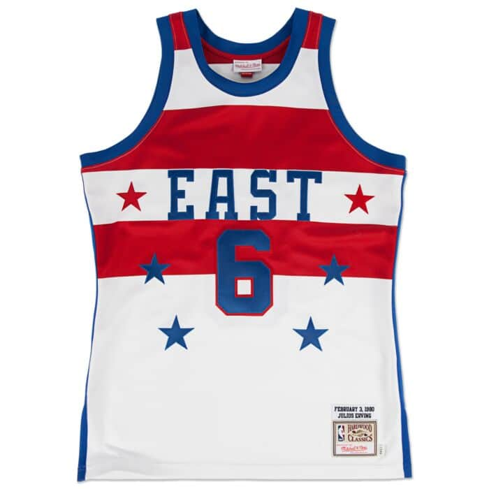 brand new 4525c 19bed Julius Erving 1980 Authentic Jersey NBA All-Star