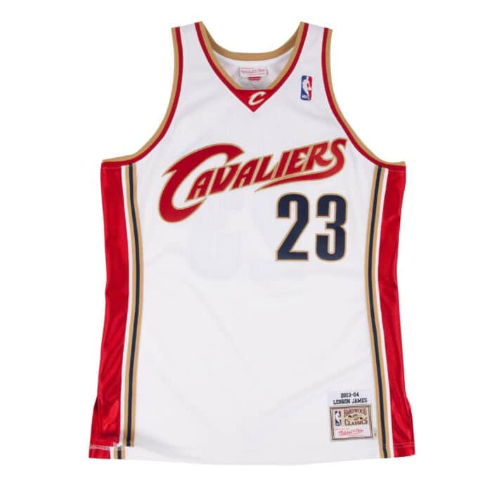 detailed look 31caf d4db1 LeBron James 2003-04 Authentic Jersey Cleveland Cavaliers