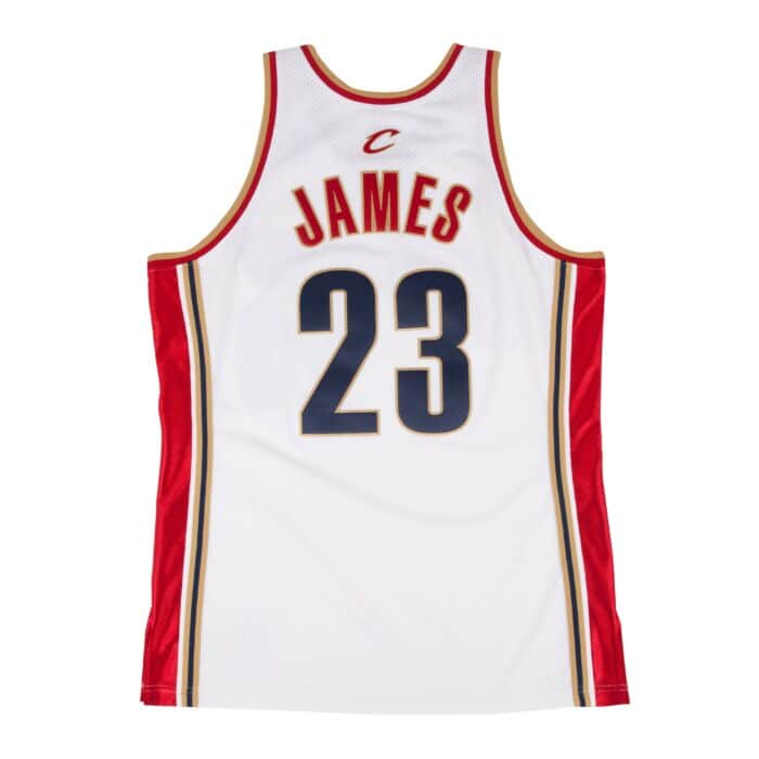 detailed look 8fbf5 c8c64 LeBron James 2003-04 Authentic Jersey Cleveland Cavaliers